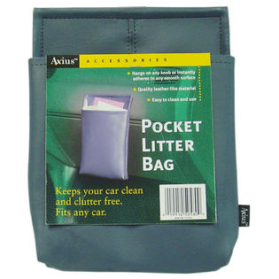 BLUE POCKET LITTER BAG
