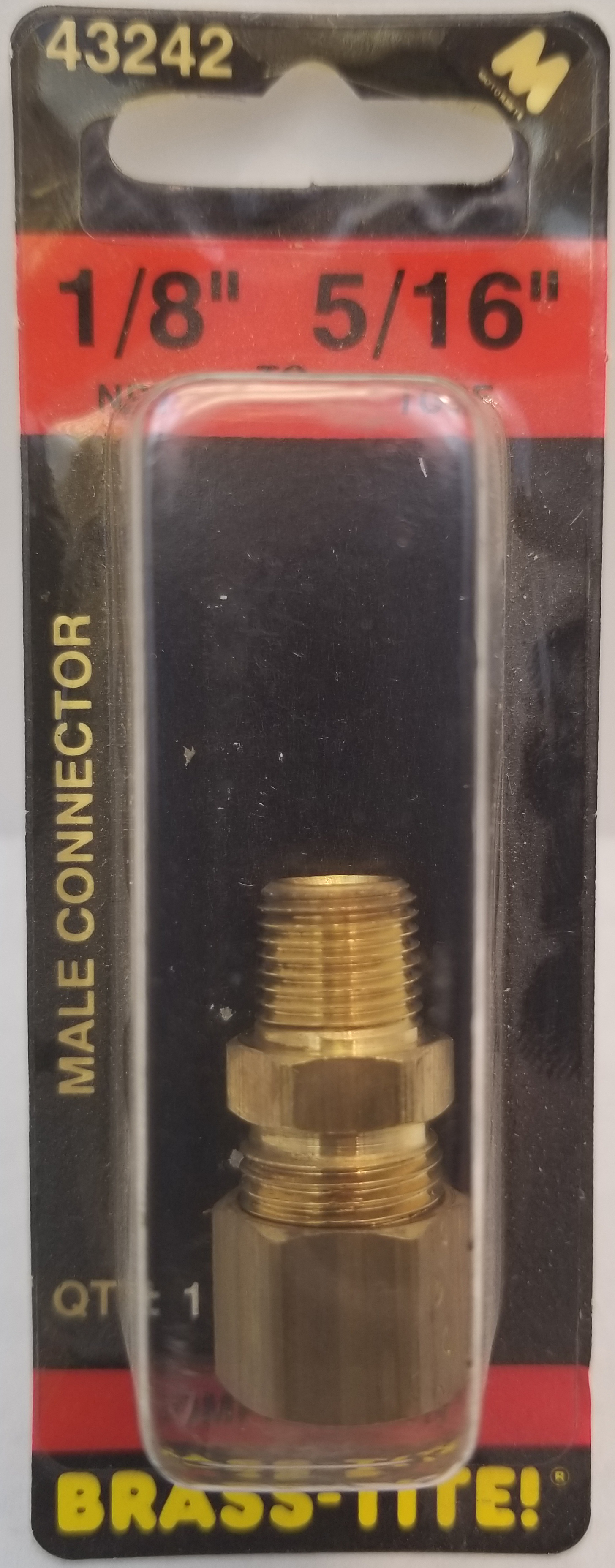 COMPRESSION CONNECTOR (BRASS)