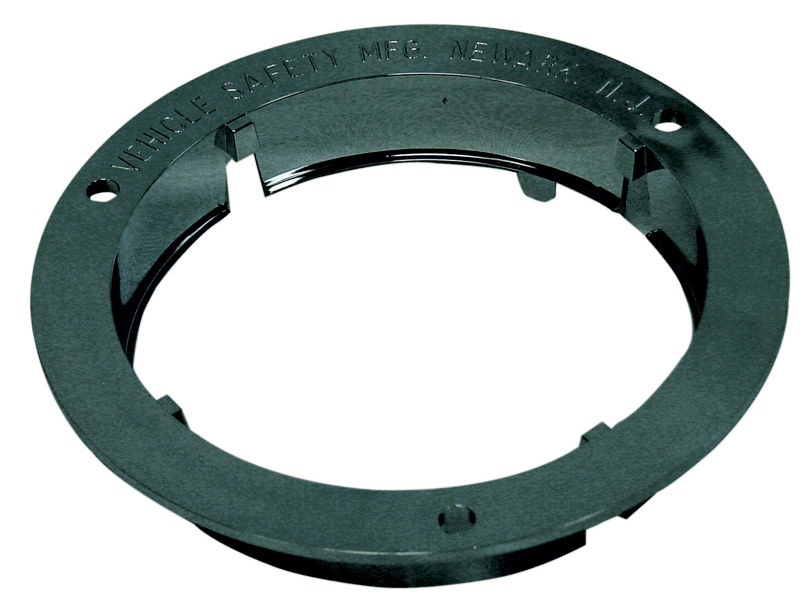 "FLANGE BLACK 4"" LOCKING - CARDED"
