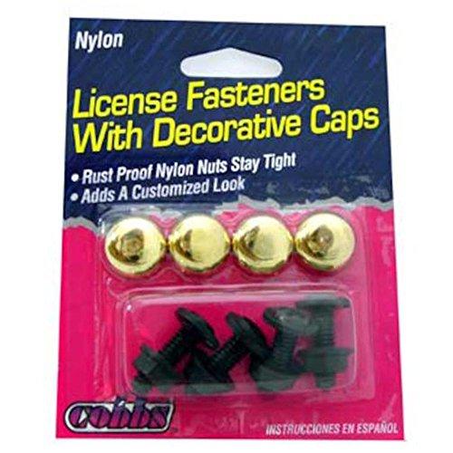 BRASS NYLON FASTENERS W/CAPS