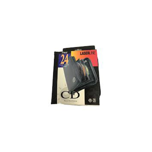 NYLON CD WALLET 24 CAPACITY LASERLINE