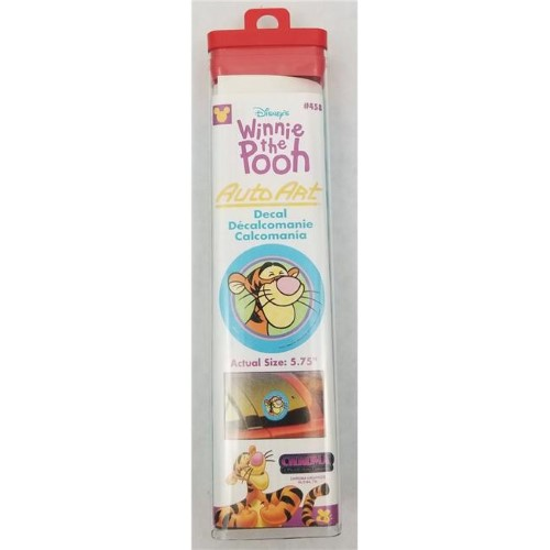 TIGGER WINDOW STICKER IN TUBE
