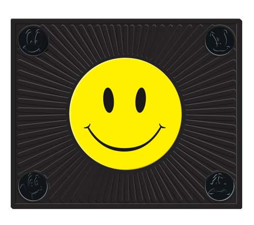 HAPPY FACE RUBBER UTILITY MAT