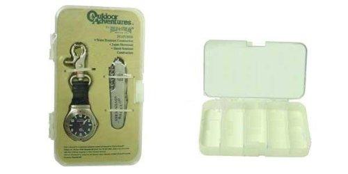 FIELD & STREAM WATCH/KNIFE GIFT SET W/TACKLE BOX