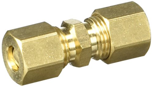 "1/4"" COMPRESSION UNION (BRASS)"
