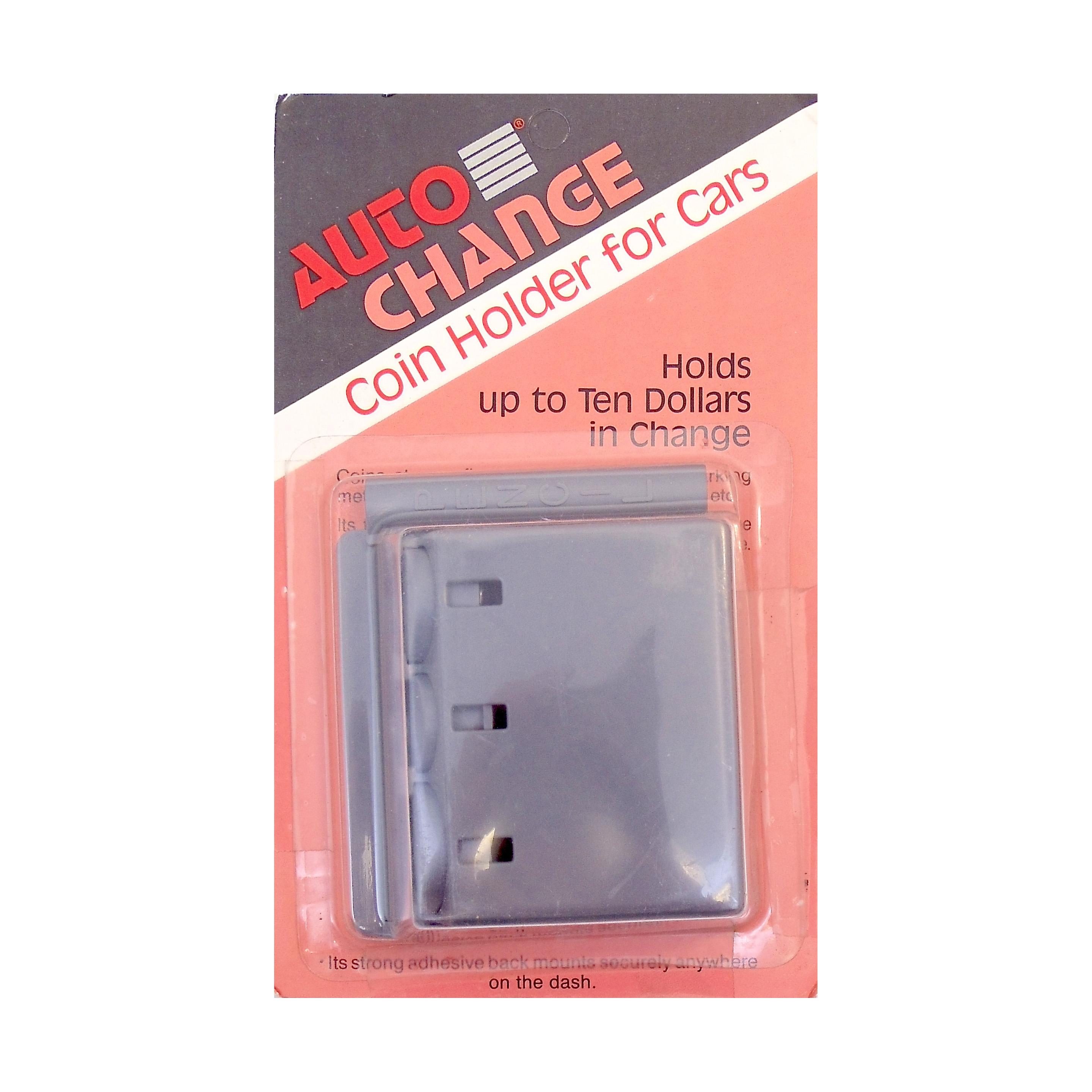 AUTO CHANGE COIN HOLDER FOR VEHICLES IN GREY