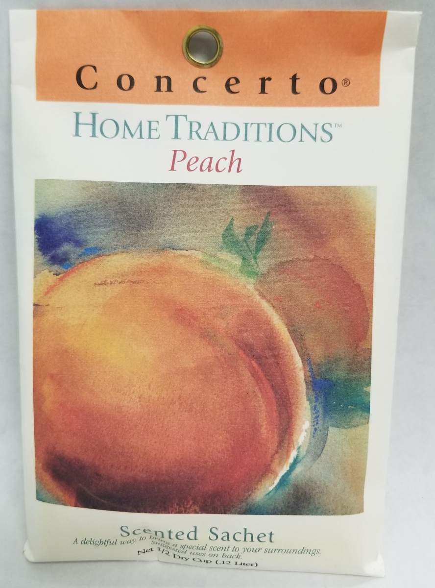 PEACH HOME TRADITIONS SACHET