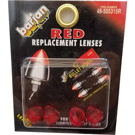 RED REPLACEMENT LENSES 048-5053R