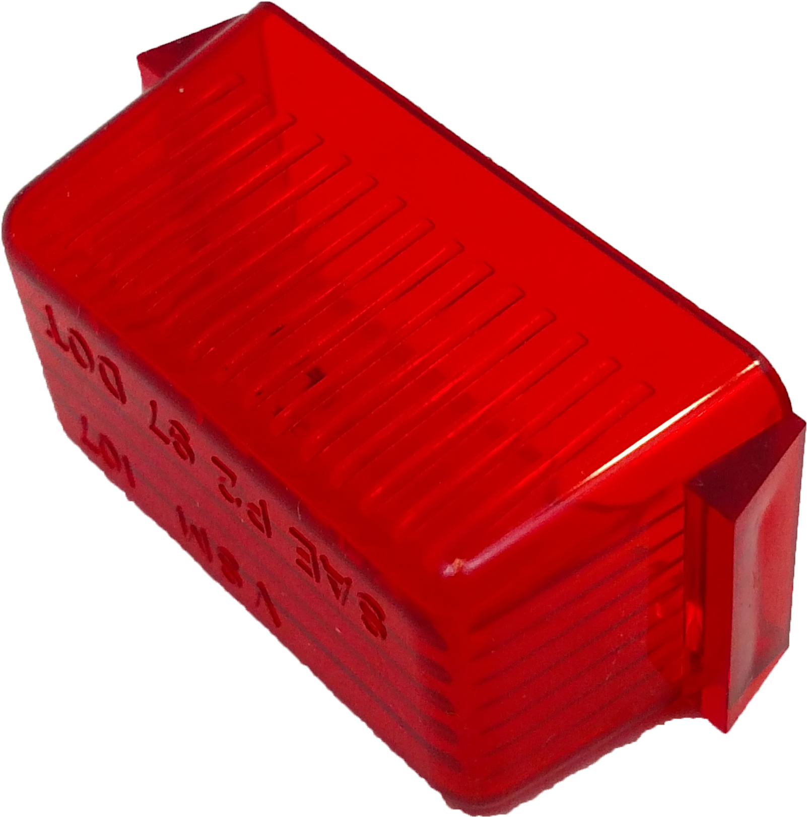 LENS RED MINI RECTANGULAR CARDED