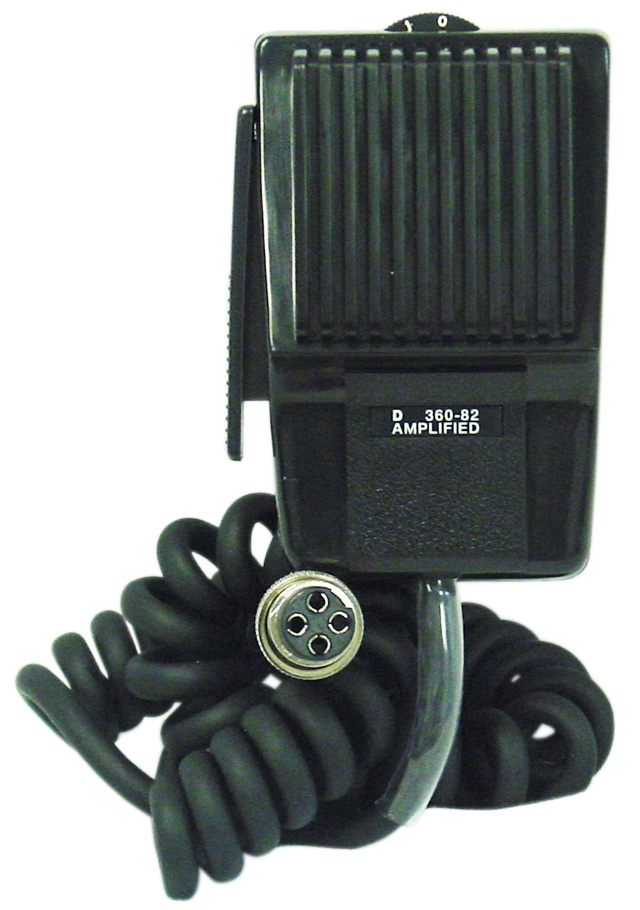 4 PIN AMPLIFIED MOBILE MICROPHONE