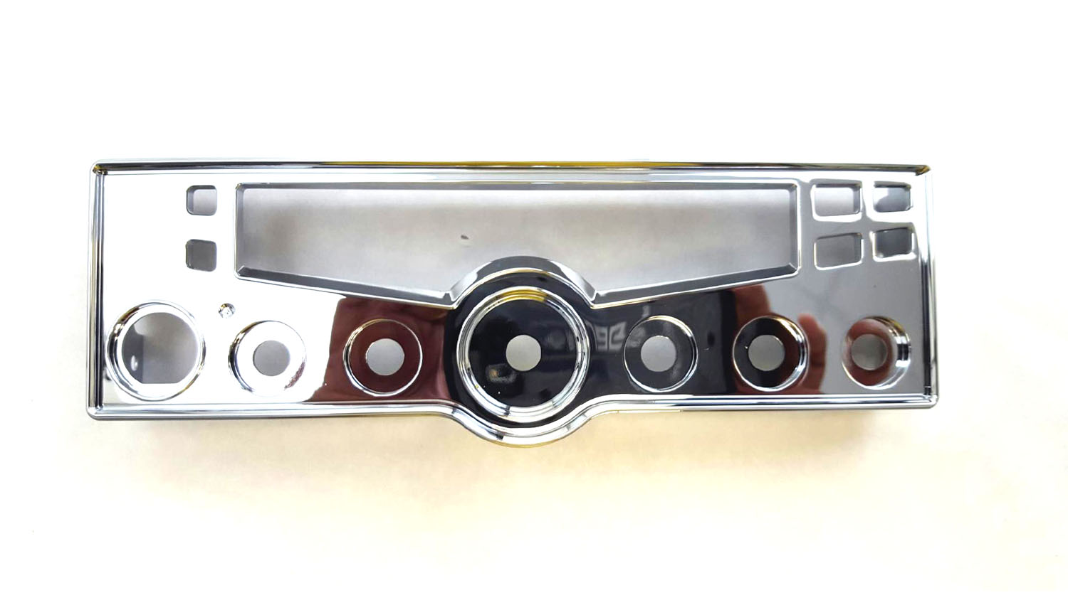 CHROME REPLACEMENT BEZEL (OUTER HOUSING) FOR COBRA C29LX CB RADIO
