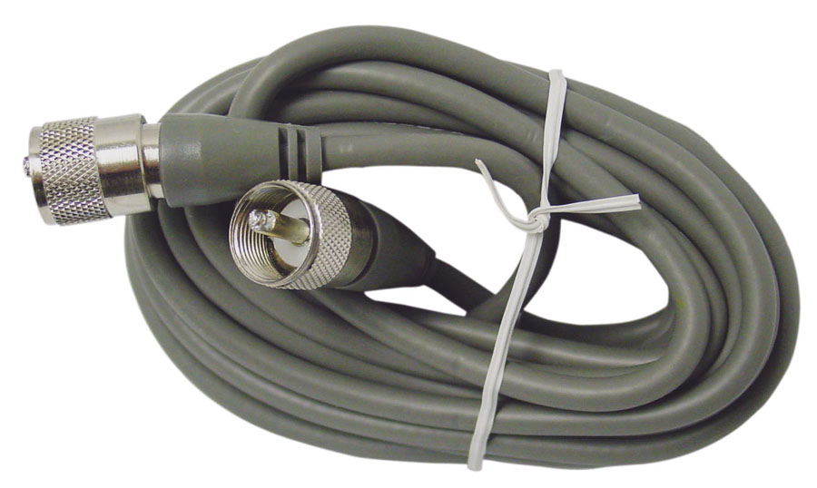 9' MINI 8 COAX W/PL259 CONNECTORS