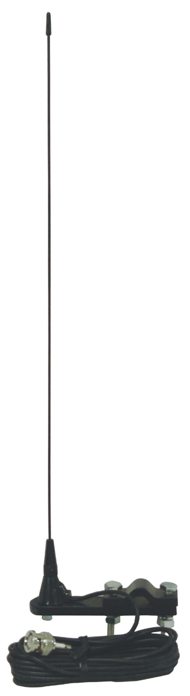 """18"""" MIRROR MOUNT SCANNER ANTENNA W/ BNC CONNECTOR"""