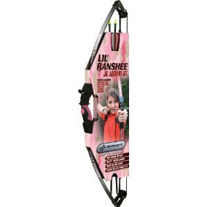 Barnett Lil Banshee Jr. Pink Archery Set