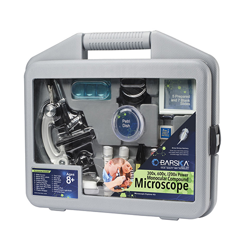 Microscope Kids Kit w/ Carrying Case