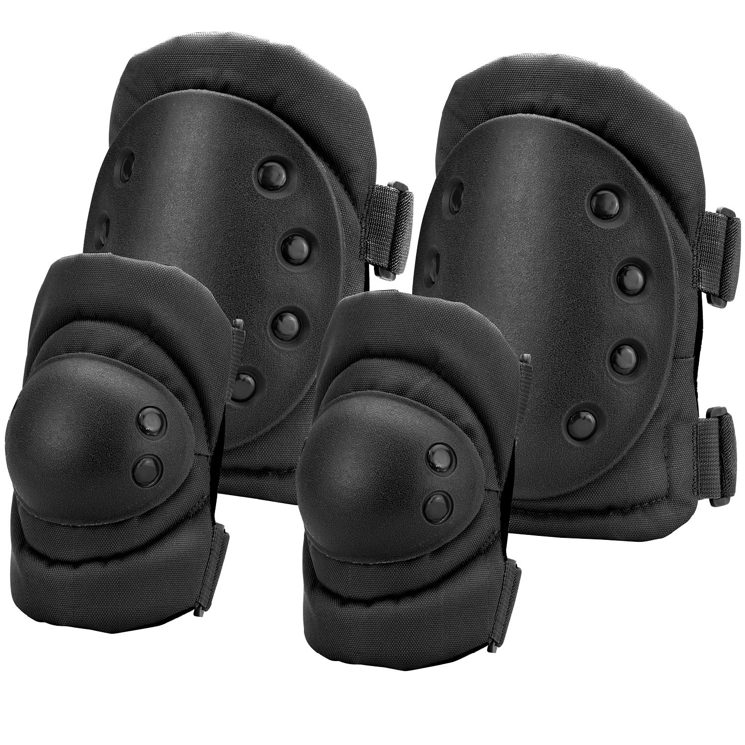 Barska Loaded Gear CX-400 Elbow and Knee Pads-Black