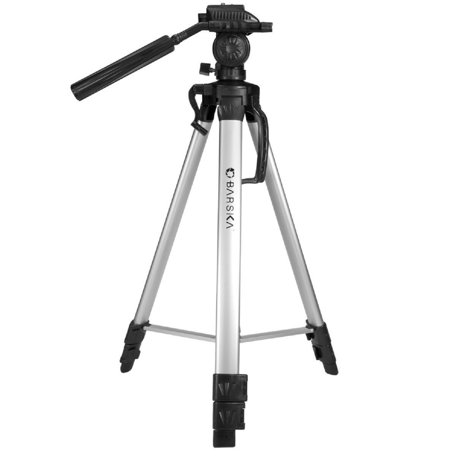 """Barska Deluxe Tripod Extendable to 63.4"""" w/Carrying Case"""