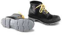 """Bata/Onguard Size 13 16"""" Polyblend Steel Toe Workshoes With Men's Cleated Sole"""