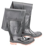 "Bata/Onguard Size 9 27"" Storm King Steel Toe Hip Waders Cleated Sole"