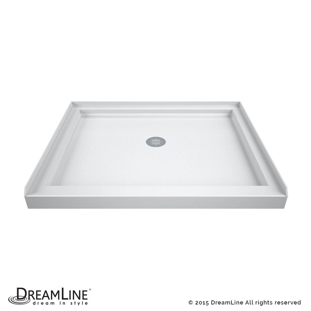 DreamLine SlimLine 32 in. by 32 in. Single Threshold Shower Base