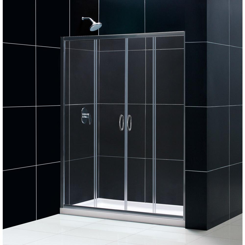 Dreamline Visions Frameless Sliding Shower Door, 32