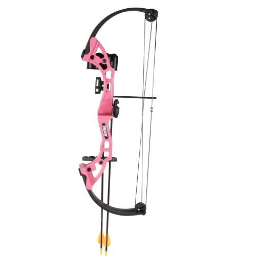 Bear Archery Brave Pink RH Bow Set AYS300PR