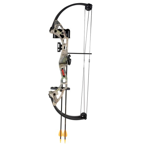 Bear Archery Brave Camo RH Bow Set AYS300CR