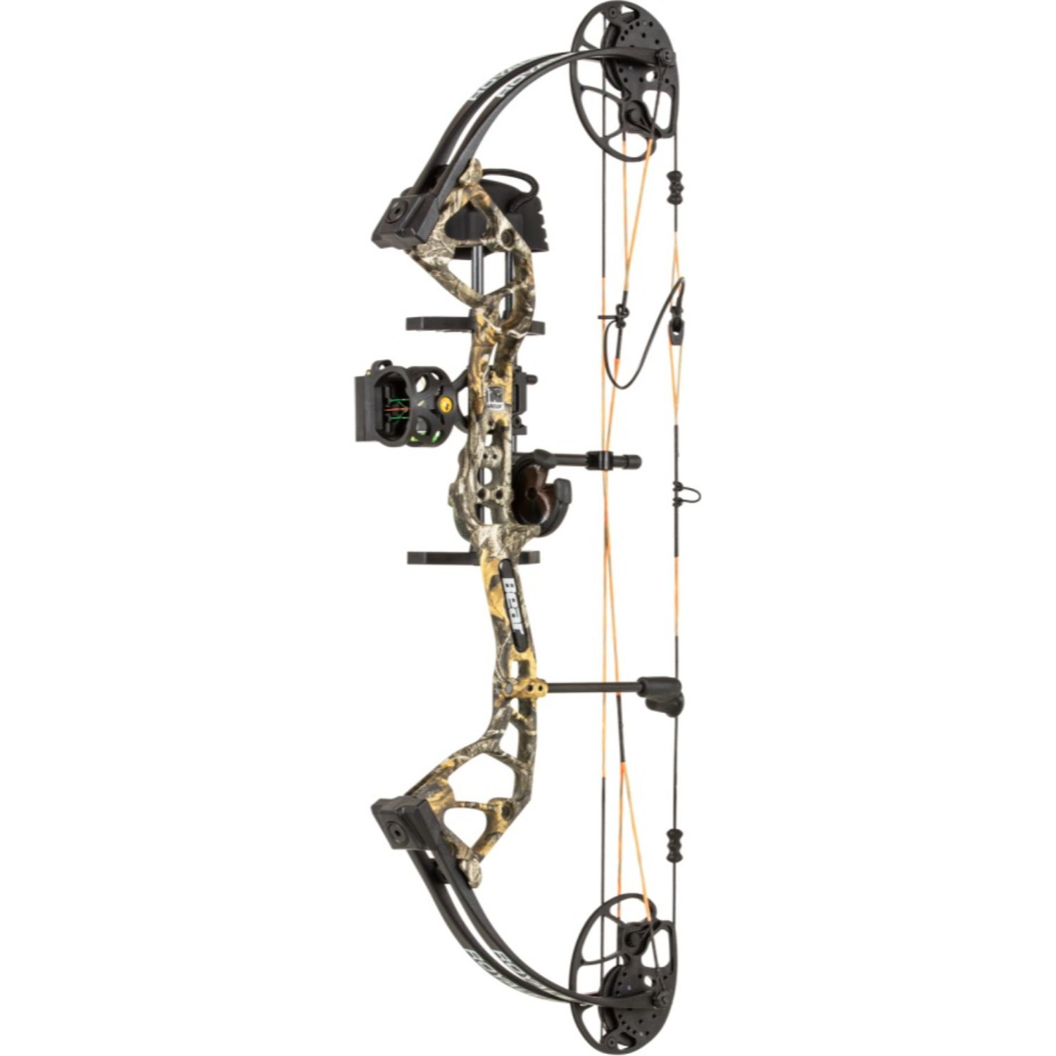 Bear Archery Royale Compound Bow with 5-50 lbs-Realtree Edge