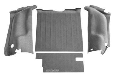 BedTred Premium Rear Floor Liner