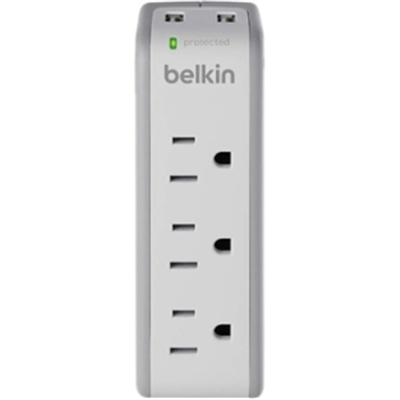 3 Outlet Surge Protector White