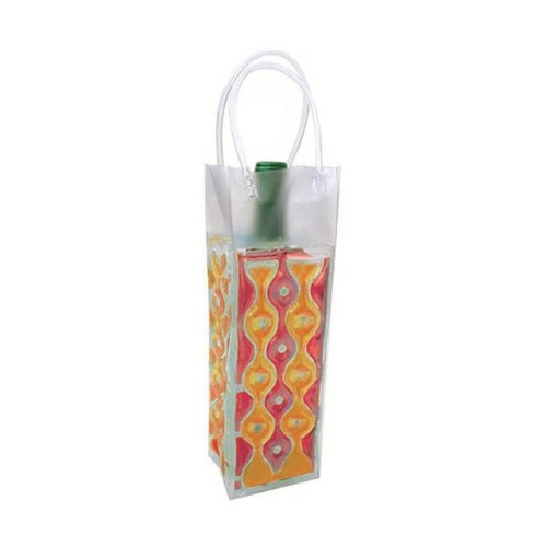 Wave 1 Red-Orange - Insulated Chill Bottle Bags