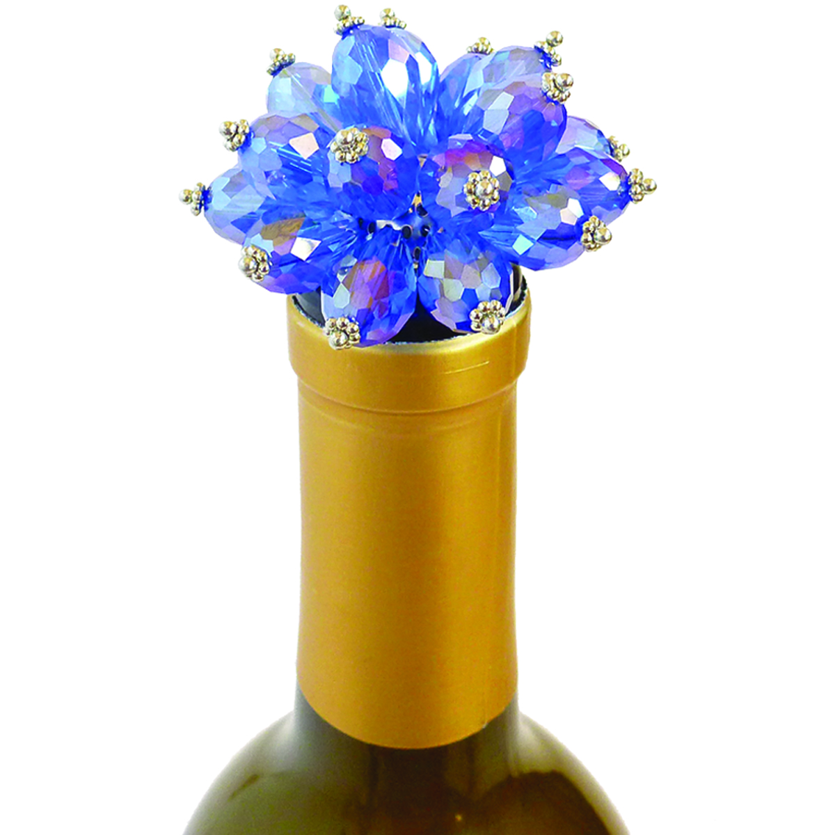 ABS Blue Bouquet - Bottle Stoppers