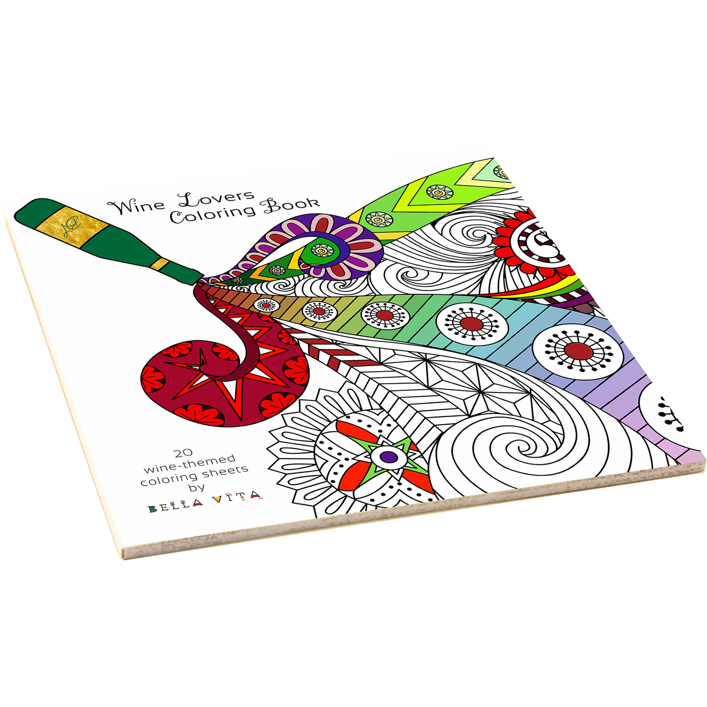 ACB Wine Wine Coloring Books