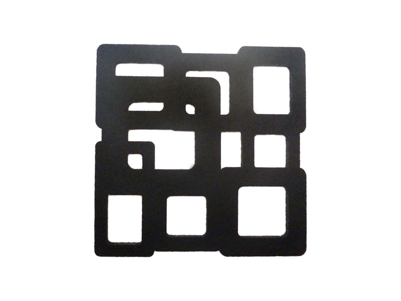AWC Black Cubes - Wine Coaster Sets