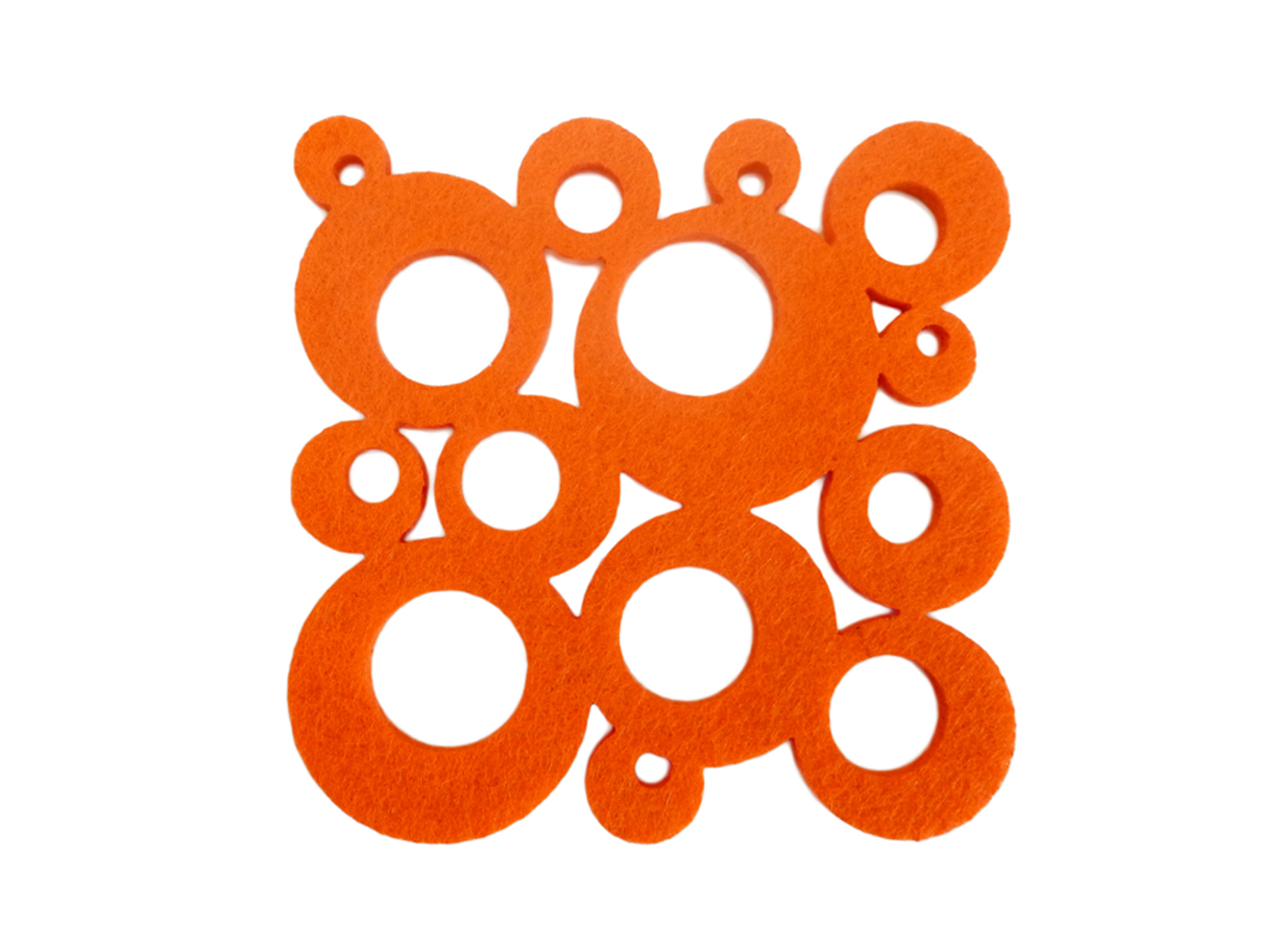 AWC Orange Bubbles - Wine Coaster Sets