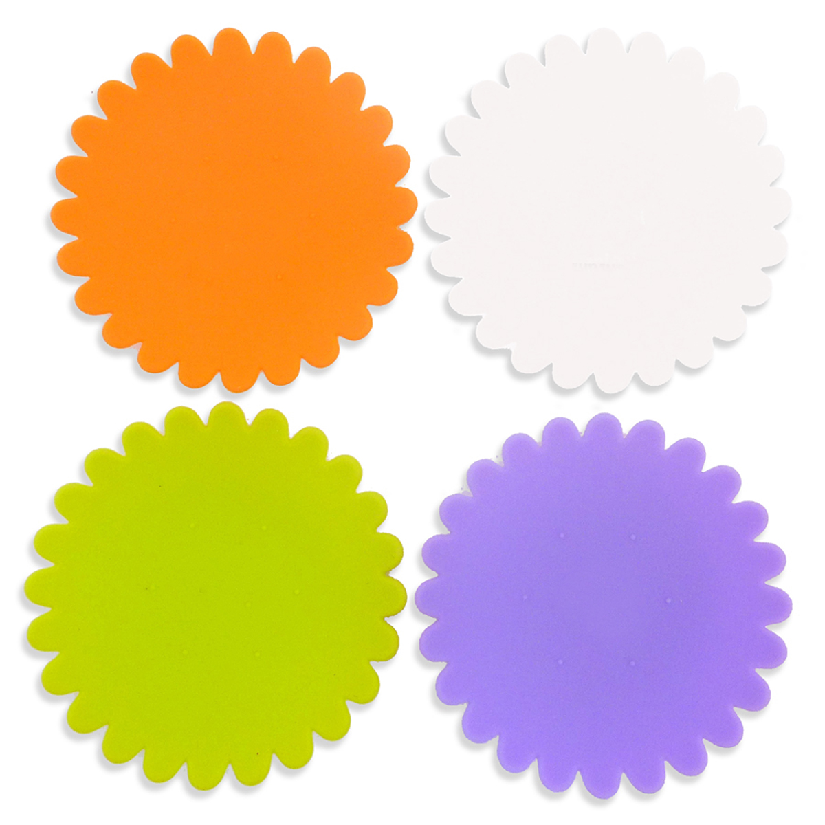 AWC Tulip - Silicone Wine Coaster Sets