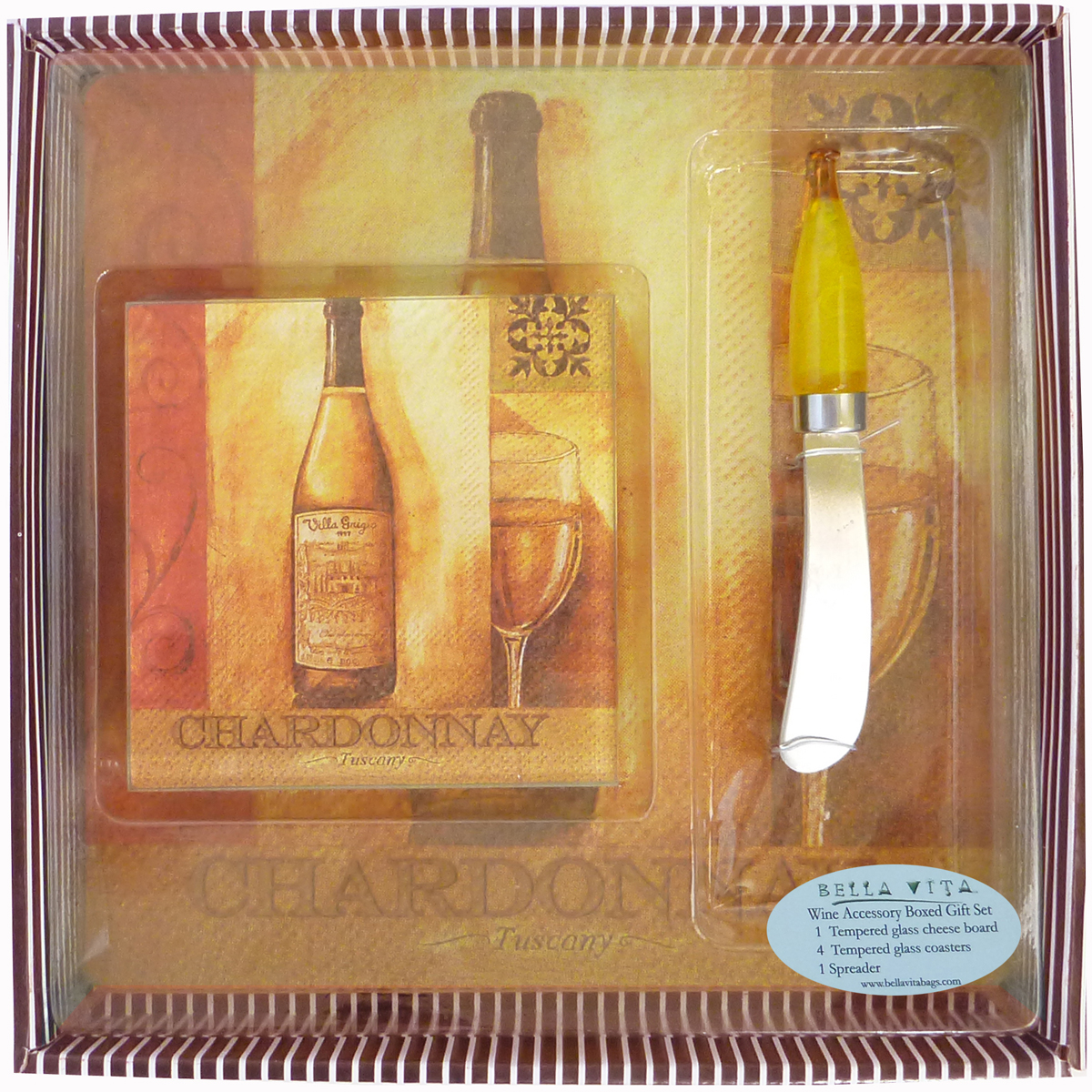 BGS Chardonnay- Boxed Gift Set
