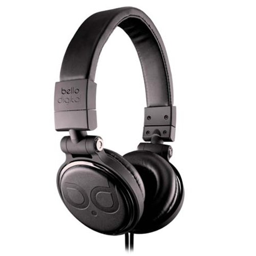 BellO Over-Ear Headphone Black