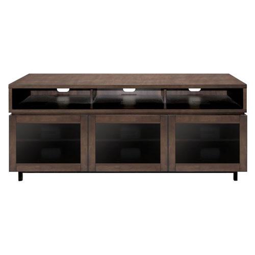 BellO Entertainment Wood Cabinet Cocoa
