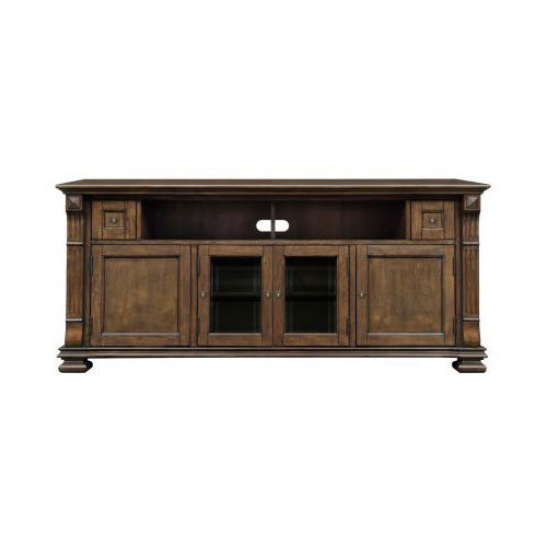 BellO Entertainment Wood Cabinet Mocha