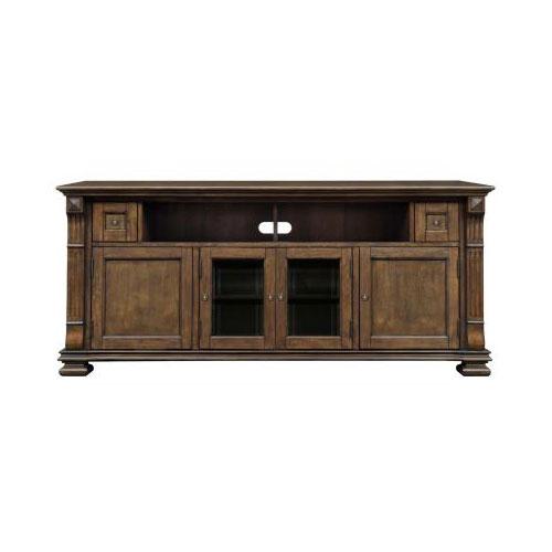 BellO Entertainment Wood Cabinet Mocha