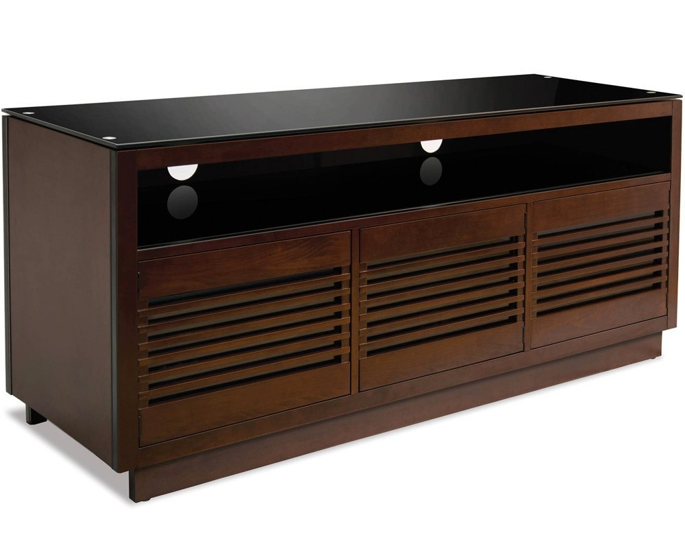 BellO Contemp Wood AV Cabinet Choc