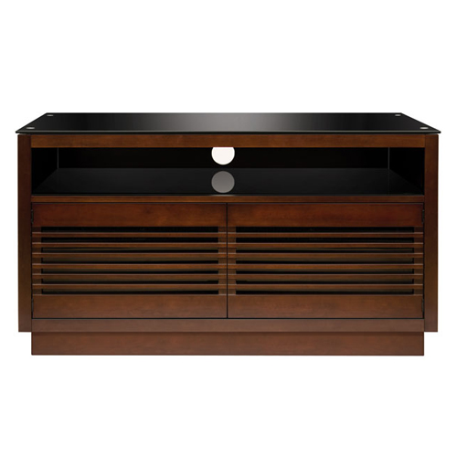 BellO Wood AV Cabinet Chocolate