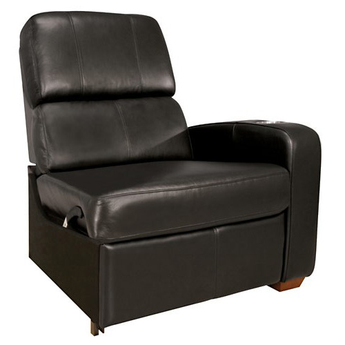 BELLO RIGHT ARM RECLINER BLACK