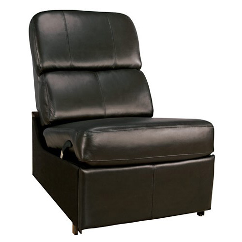 BELLO NO ARM RECLINER BLACK