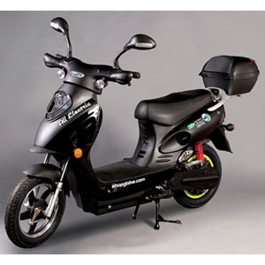 Scooter Bike - Electric - Black