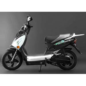 Scooter Bike - Electric - Black/White