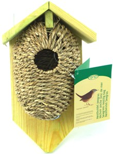 Nest Pocket Sea Grass with roof