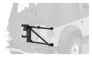 HighRock 4x4 Oversize Tire Carrier in Black