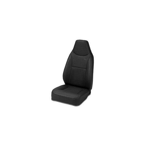Trailmax II Stationary High Back Seat in Black Denim